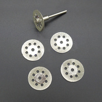 5pcs diamond cutting disc diamond grinding wheel dremel mini drill circular saw blade wood stone cut off tool accessories