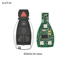 KAITAI 5 шт./лот 433 мГц Smart Remote замками Fob для Mercedes Benz 2000 + с Uncut Бланк лезвия