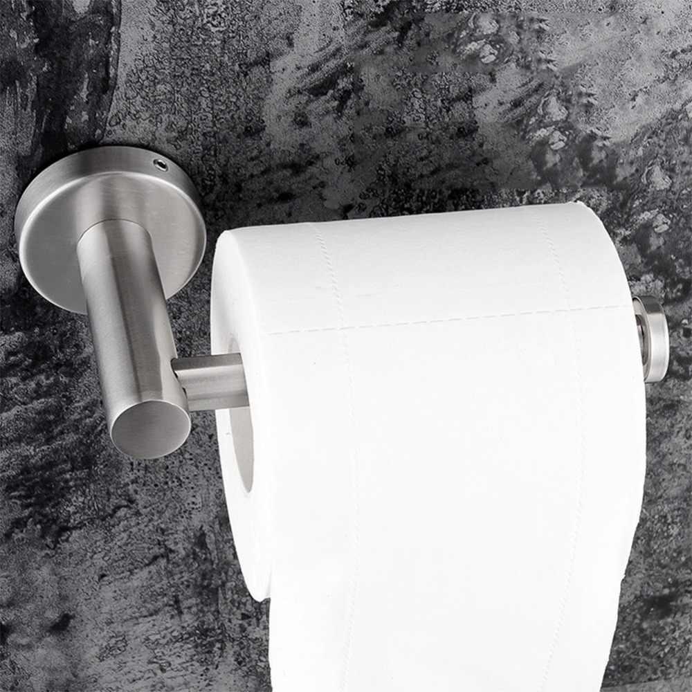 1 шт. держатель для туалетной бумаги подвесной бесследный практичный настенный держатель для туалетной бумаги держатель для ванной комнаты для туалетной ванной комнаты