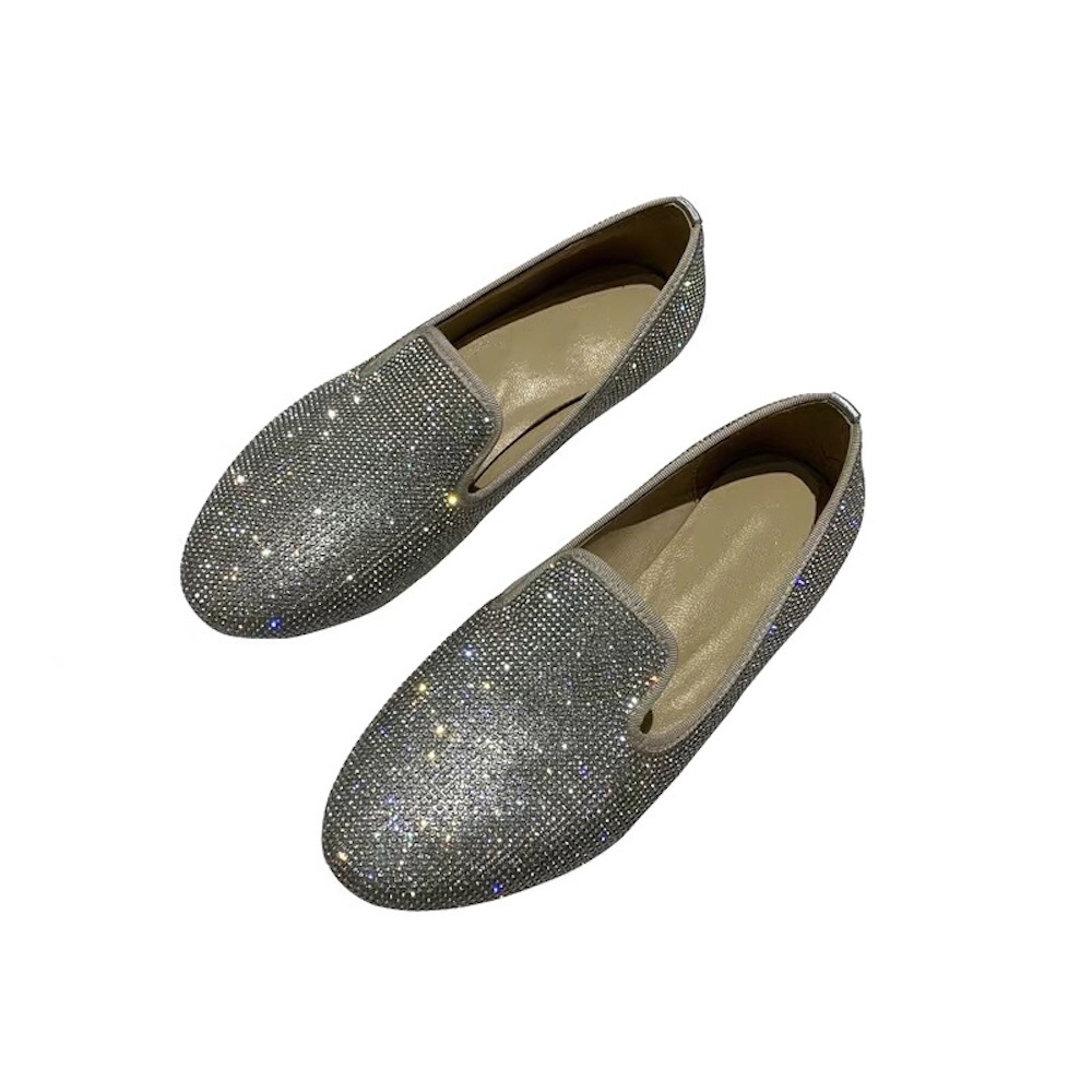 Stkehidba Women Flats Platform Loafers Ladies Elegant Genuine Suede Leather Women s Espadrilles Slip On Casual