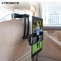 Car Back Seat Tablet Stand for iPad Tablet PC Air 3 2019 Mini 5 Air 1/2 Pro 9.7 for Xiaomi Huawei Pad Car Headrest Mount Holder