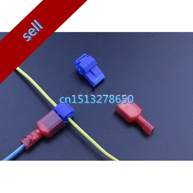 10 pcs scotch lock quick splice wire connector for car free shipping rh aliexpress com automotive electrical splices automotive wiring splice t connectors