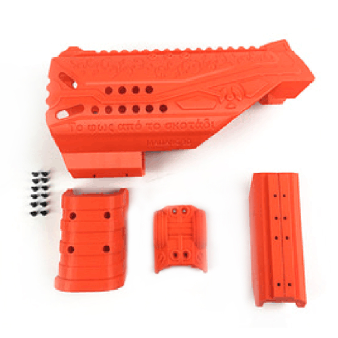 Maliang 3D Printing Modified Kit for Nerf N-Strike Elite Strongarm Blaster maliang appearance modification 3d printing front tube a 3 0 decoration part for nerf zombie strike doublestrike blaster