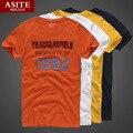 TOP Qualidade AF Asite & Ruila Marca Casual Camiseta 100% Algodão Tops & T T-shirt Dos Homens de Verão de manga curta Dos Homens Hollistic roupas