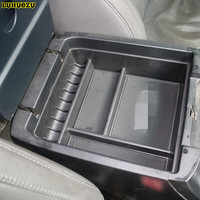 Non Slip Central Armrest Container Stowing Box Without Refrigerator For Toyota Land Cruiser Prado FJ 120