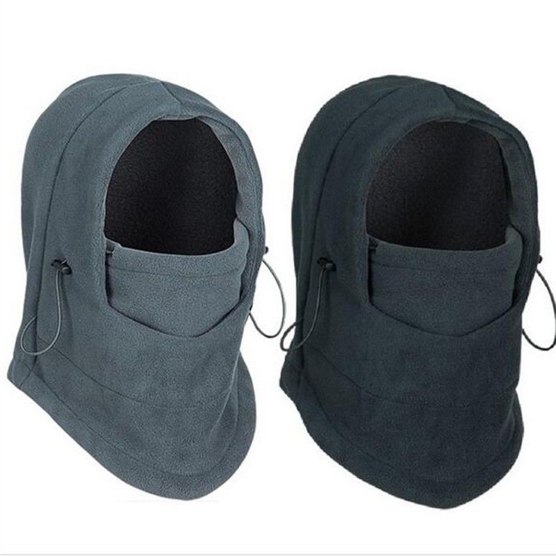 c62169ffc6a Outdoor Sports Windproof Neck Warm Motorcycle Cycling Cap Hat Fleece ...