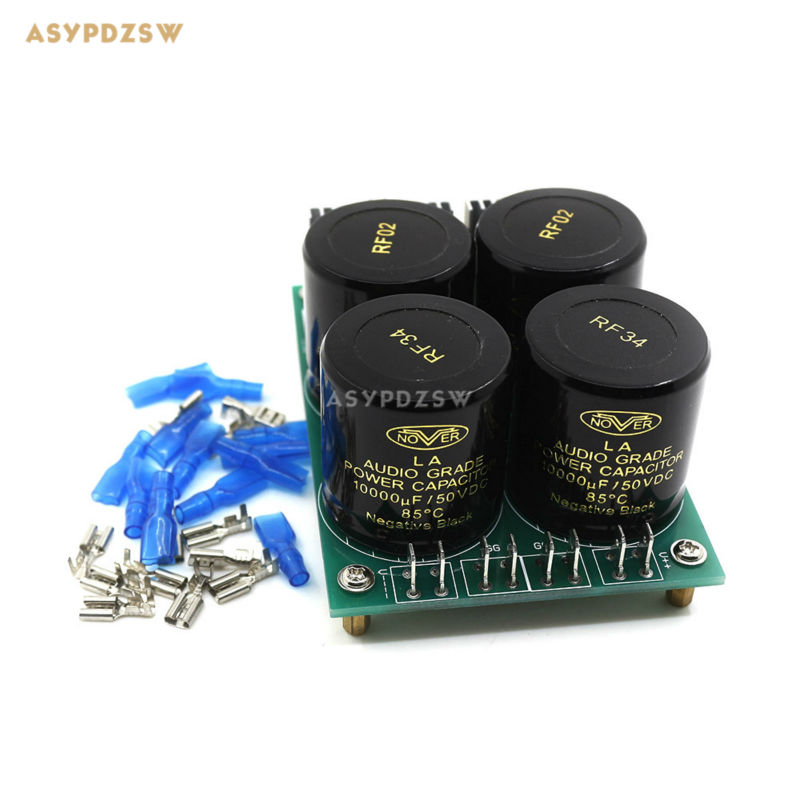 HPO Audio amplifier power supply board 30A NOVER 10000uF 50V X4 Diode Rectifier Filter купить дешево онлайн