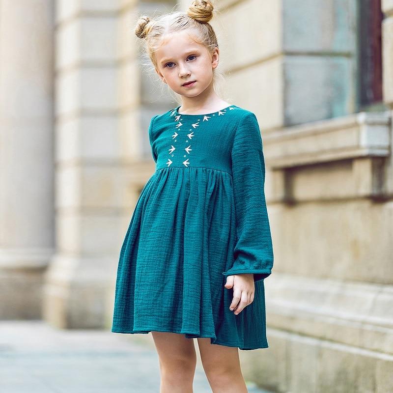 W.L.MONSOON Kids Dresses for Girls Christmas 2017 Brand Princess ...