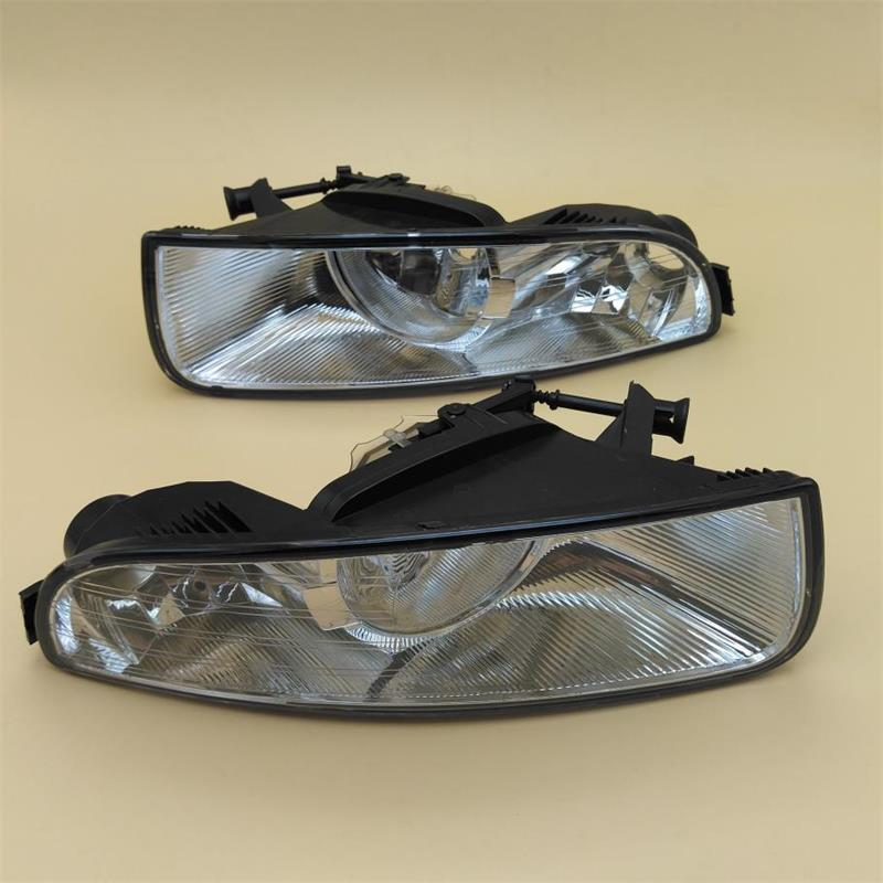Car Light For Skoda Superb MK2 2008 2009 2010 2011 2012 2013 Car-styling Front Halogen Fog Lamp Fog Light Left And Right Side right side housing clear front fog light lamp cover for bmw x6 e71 e72 oem 63177187630 car styling