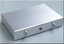 WANBO Audio Accurate CNC Aluminum DAC / headphone / preamp case Audio box 330 x 61.5 x 228(mm) (WxHxD)