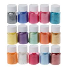15 Colors Mica Powder Epoxy Resin Dye Pearl Pigment Natural Mineral
