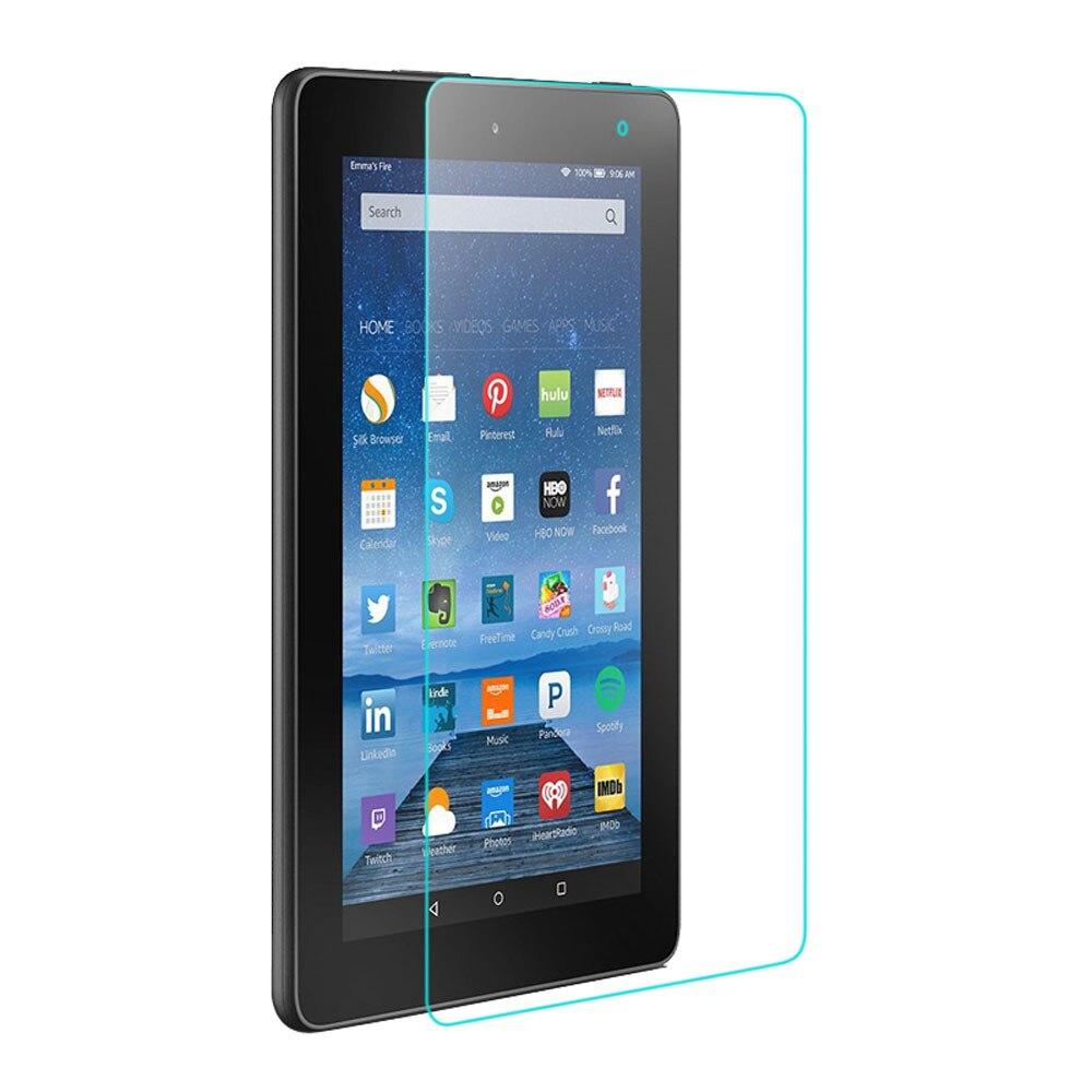 Vetro temperato Protezione Dello Schermo Flim Per Amazon Kindle Fire HD 7  2015 Tablet fda705a27dae