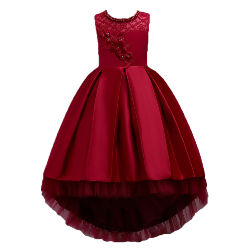 New Summer Children Dresses For Girls Princess Kids Formal Wear Princess Dress For Baby Girl 8