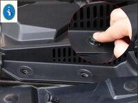 Novo Estilo Para A Renault Kadjar 2016 2017 2018 Motor De Plástico Armazém Entrada de Ar Capa Protetora Anti-bloqueio Guarnição 1 Peça