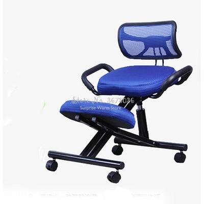 Cheap Ergonomic Kneeling Chair Backrest Student Posture Chair Computer Chair Desk Writing Chair Adjustable Office Chair