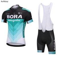 Aufdiazy Short Sleeve Cycling Jersey Sets Men Summer Pro Racing Sport Cyclig Clothing mtb Road Bike Jersey Bicycle Shirt IM073