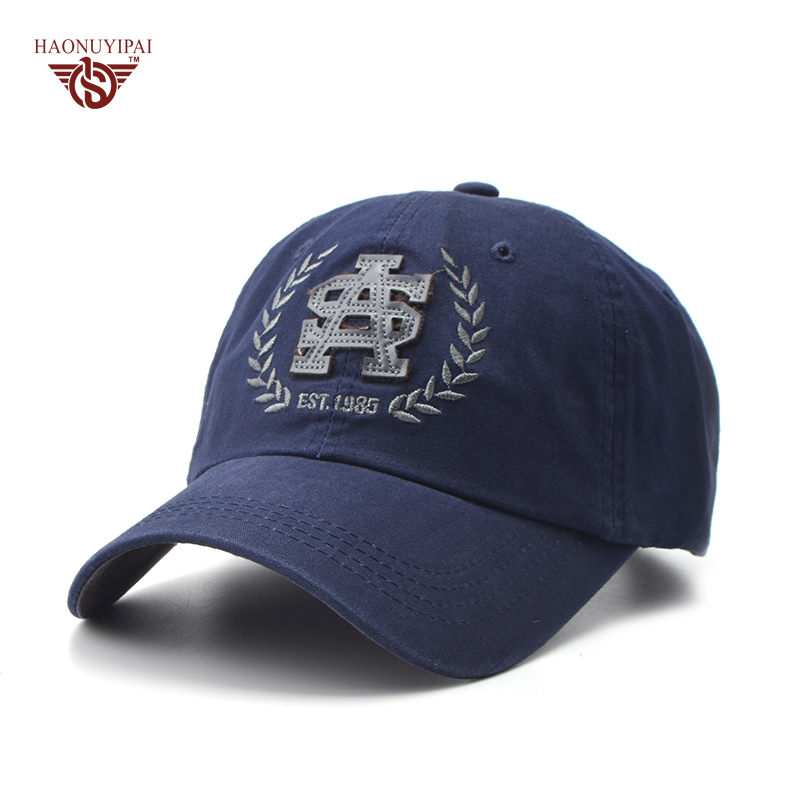 New Fashion Cotton Patch Baseball Caps Spring Summer Outdoor Hats For Women Men Brand Snapback Solid Color Hat Adult Cap CL-464 2016 summer linen baseball caps for women men outdoor snapback caps leisure golf sport hat fashion
