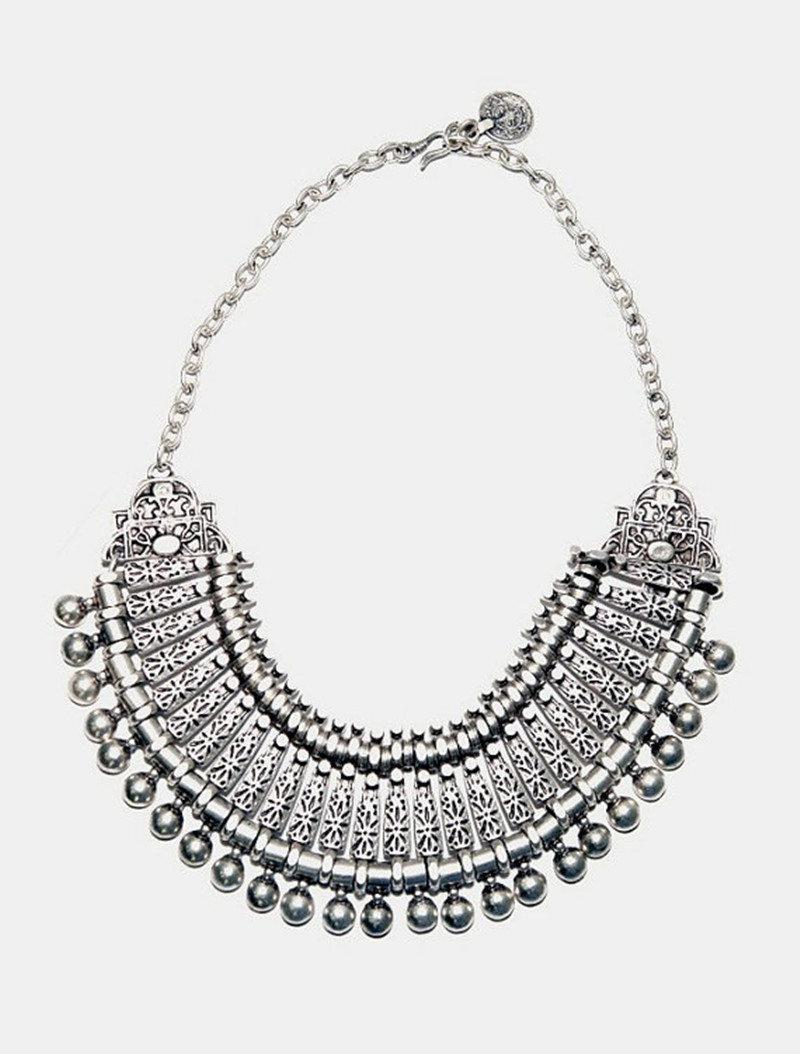 bhima products necklace silver vintage antique ssn