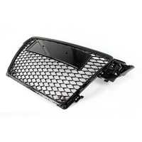 A4 B8 Modified RS4 Style Black Front Bumper Engine Grill Grids for Audi A4 S4 RS4 2009 2010 2011 2012