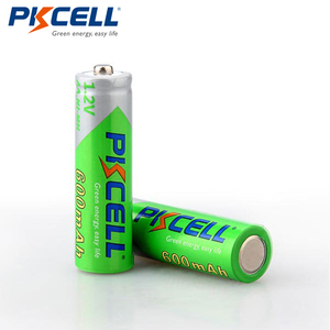 Image 4 - 8Pcs/2cards PKCELL AA Ni MH Pre charged Batteries 600mAh 1.2V AA NiMh LSD Rechargeable Battery for Remote Control