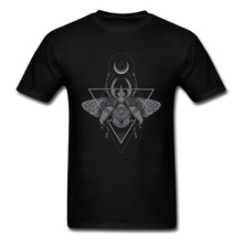 Occult Beetle Tshirt Print Men's Tops Tees Group T-Shirt Designer Short Sleeve T Shirts Father Day Gift 100% Cotton Crew Neck худи print bar occult