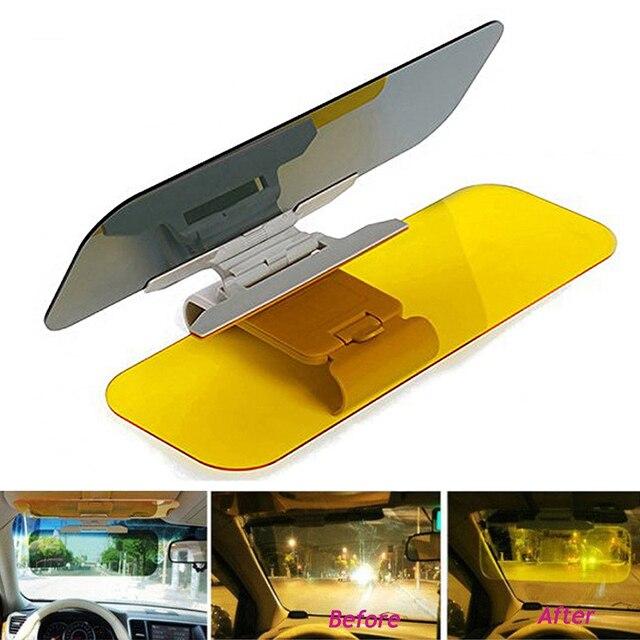 HD Car Windshield Visor Night Anti- Clear- Zone Tech Premium Quality Universal  Sunshade and Night Vision Anti-Dazzle Windshield 01b06cd5e24