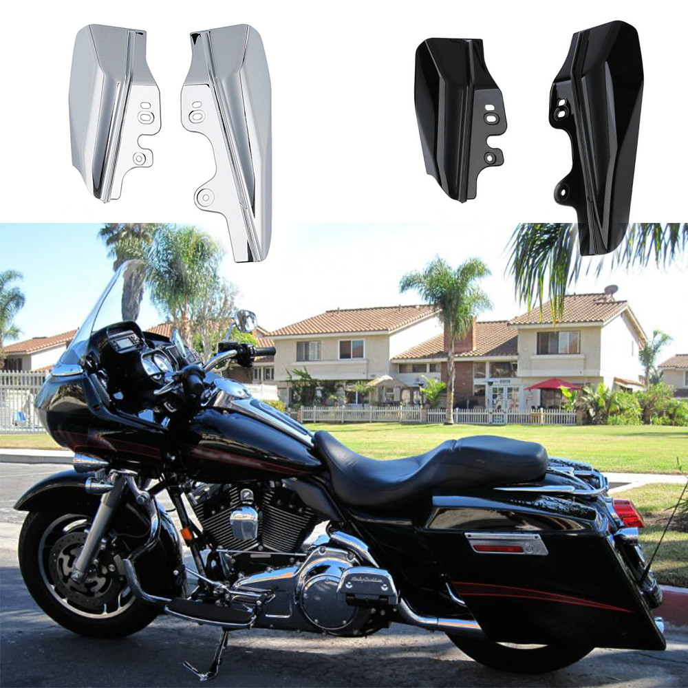 For Touring Street Road King Electra Street Glide CVO Road King 2001-2008 Mid-Frame Air Deflectors TrimFor Touring Street Road King Electra Street Glide CVO Road King 2001-2008 Mid-Frame Air Deflectors Trim