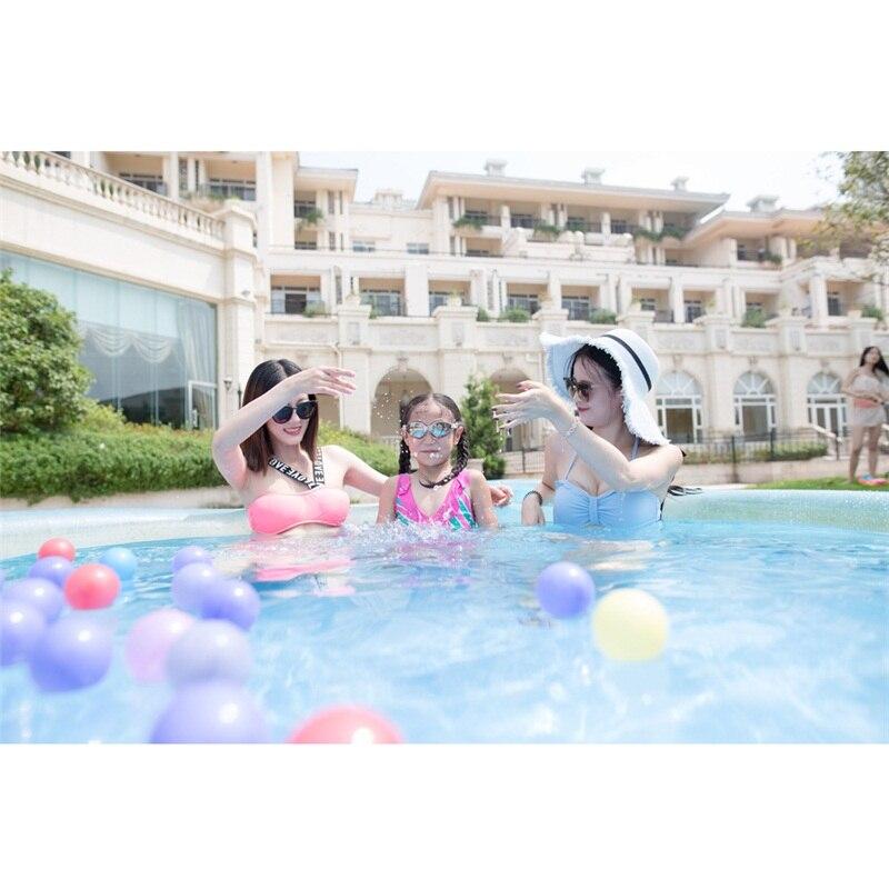 244 cm 76 cm INTEX bleu AGP piscine hors sol famille piscine gonflable piscine pour adultes enfants enfant aqua eau d'été B33006 - 2