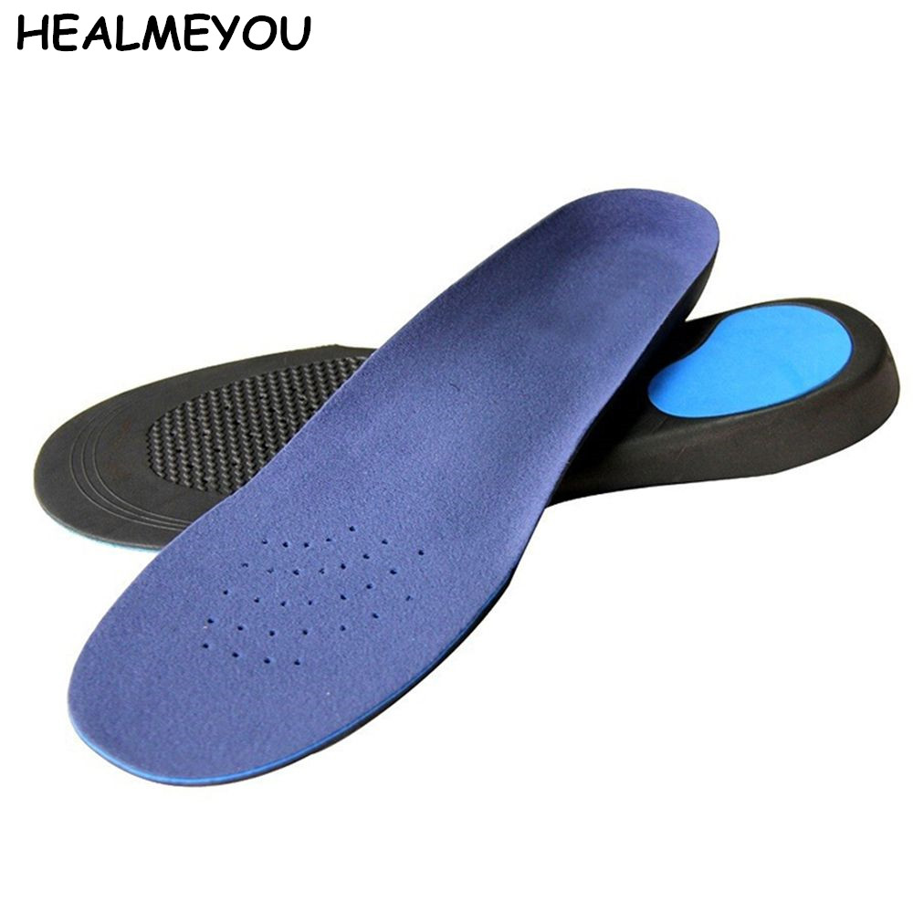 HEALMEYOU 1 pair Memory Foam Orthotics Arch Support Shoes Insoles Insert Pads Tool S/M/L/XL Size