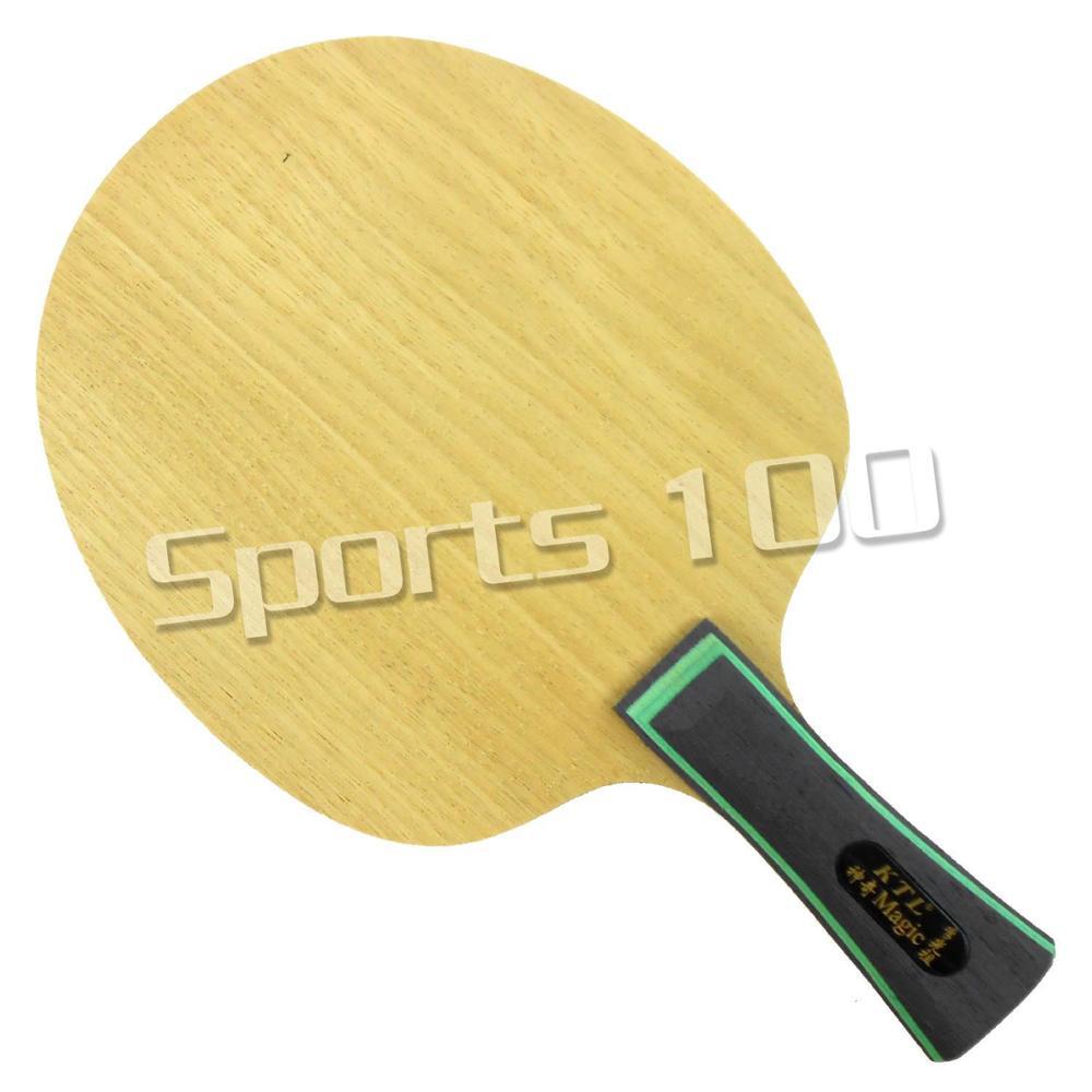 Lame de raquette de ping-pong en bois magique KTL pour raquette de ping-pong Super légère 68-77g Super épaisseur 13-14 cm