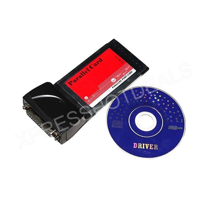 PCMCIA Cardbus для параллельного принтера LPT, порт DB25, адаптер Cardbus для ноутбука, ноутбука