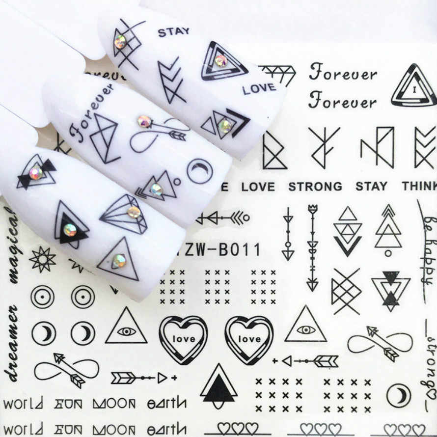 1Pcs Letter Symbol Fashion Women Temporary Tattoo Cute Star Tattoo Sticker Love Women Body Finger Art Waterproof Tatoo Kid N2c6
