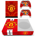 Football Club For XBOX ONE S Skin Stickers + 2Pcs Controller Skin Console Stickers Protective Skin For XBOX ONE S Vinyls