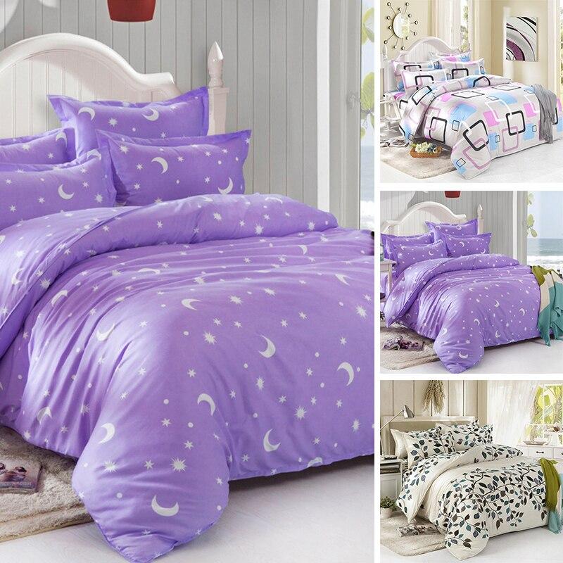 1 2m 4 Feet Bedding Set Star Duvet Cover Korean Bed