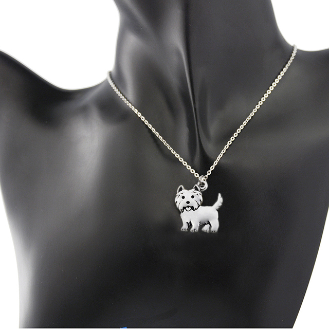 Fashion Metal Dog Shaped Pendant