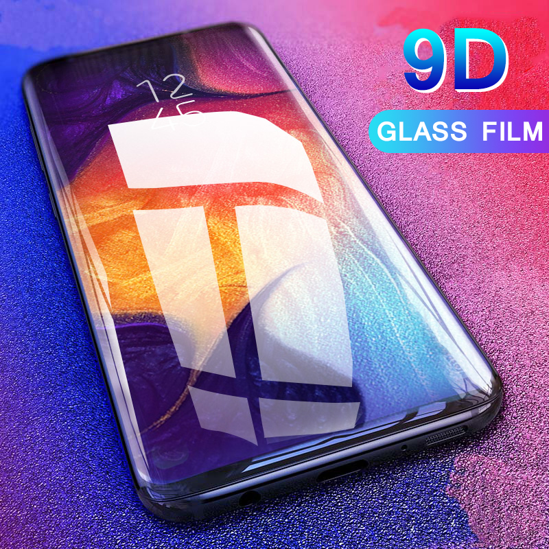 9D Full Curved For <font><b>Samsung</b></font> Galaxy A50 A40 A70 A80 A90 A20 A30 Safety Tempered <font><b>Glass</b></font> on For Galaxy <font><b>A</b></font> <font><b>50</b></font> <font><b>A</b></font> 40 50A Protective <font><b>Glass</b></font> image
