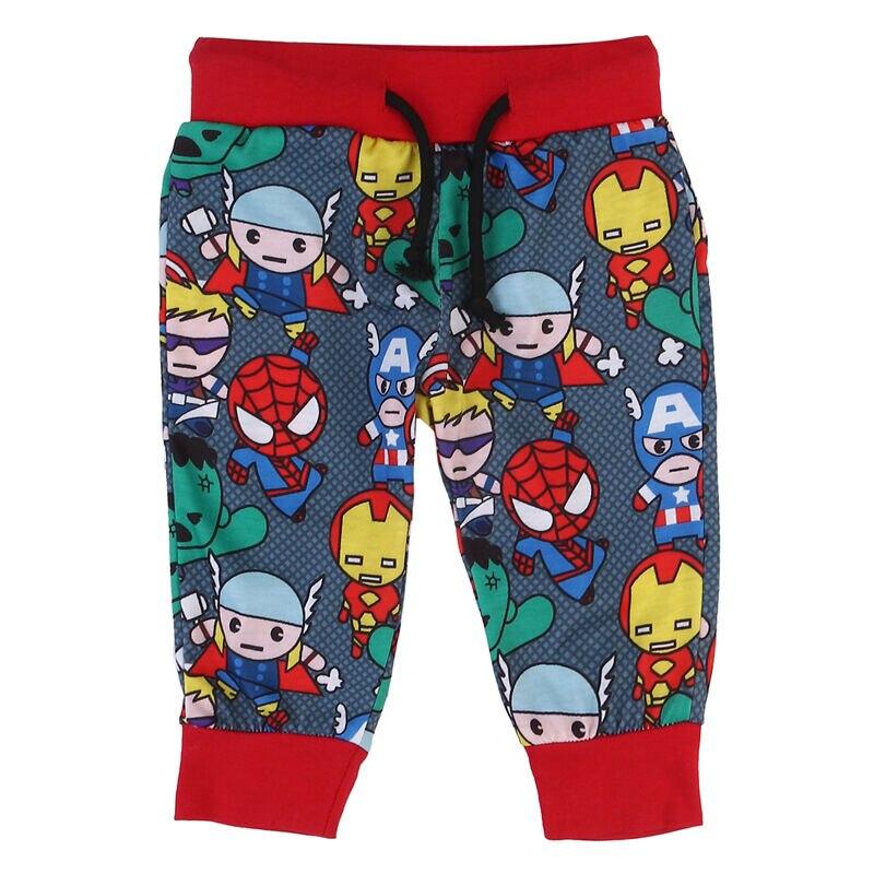 Outfits Pants Leggings Newborn Baby-Boy Toursers Superhero Kids Cartoon Fashion Comfortable