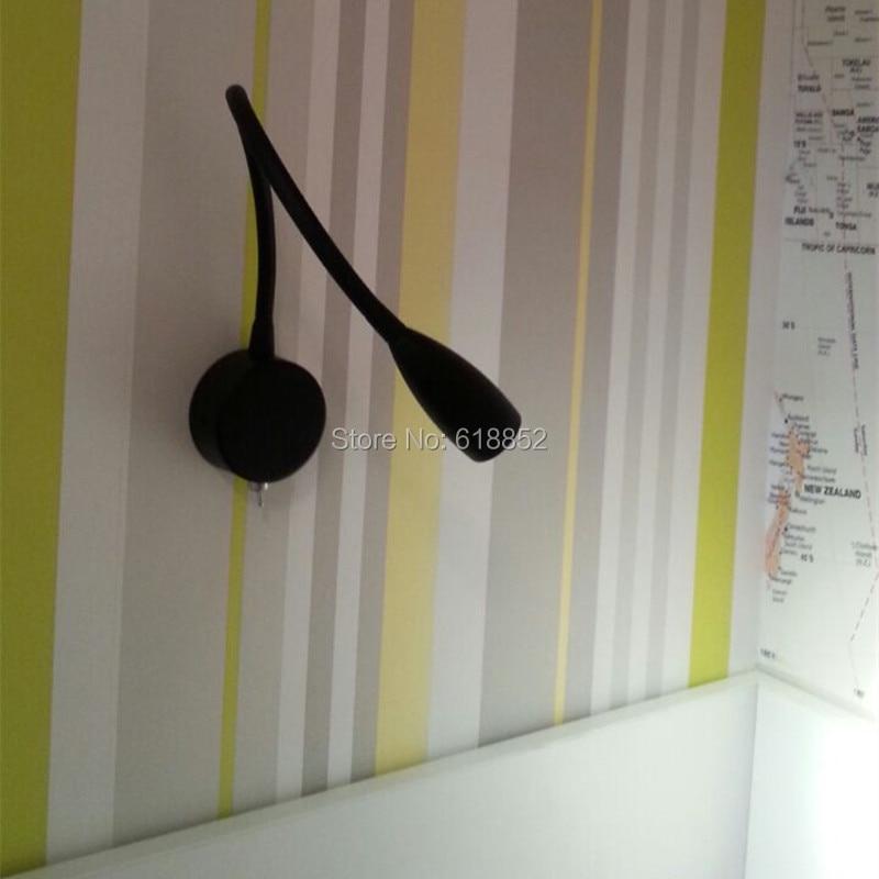 Topoch zidno svjetlo podesivo tvrdo ožičeno minimalističko mat - Unutarnja rasvjeta - Foto 2