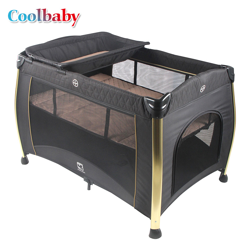 Coolbaby Baby cot high quality foldable easy to carry and fenceCoolbaby Baby cot high quality foldable easy to carry and fence