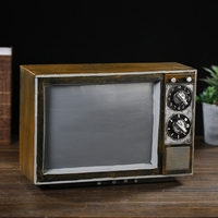 Old fashioned Shanghai brand TV model European retro ornaments Creative furnishings Old products Crafts WL5181605