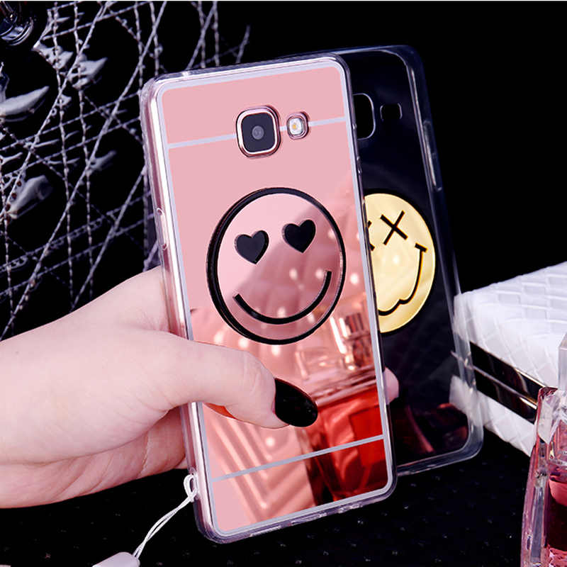 Lovely Smile Face สำหรับ Samsung A3 A5 A7 A8 J3 J5 J7 2016 2017 A520 A720 A320 J720 j520 J320 J510 J310 J710 กลับกรณี
