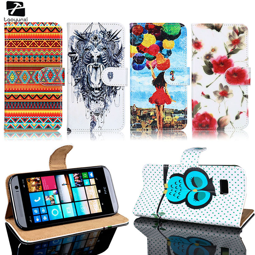 TAOYUNXI Cases <font><b>Covers</b></font> For <font><b>HTC</b></font> <font><b>Desire</b></font> 826 816 800 606 600 <font><b>510</b></font> 500 820 Mini 728 700 626 530 526 516 400 310 PU Leather Case <font><b>Cover</b></font> image