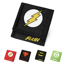 MeanCat America Marvel DC Character Superman Batman Flash Man Wallet Collection for Fans
