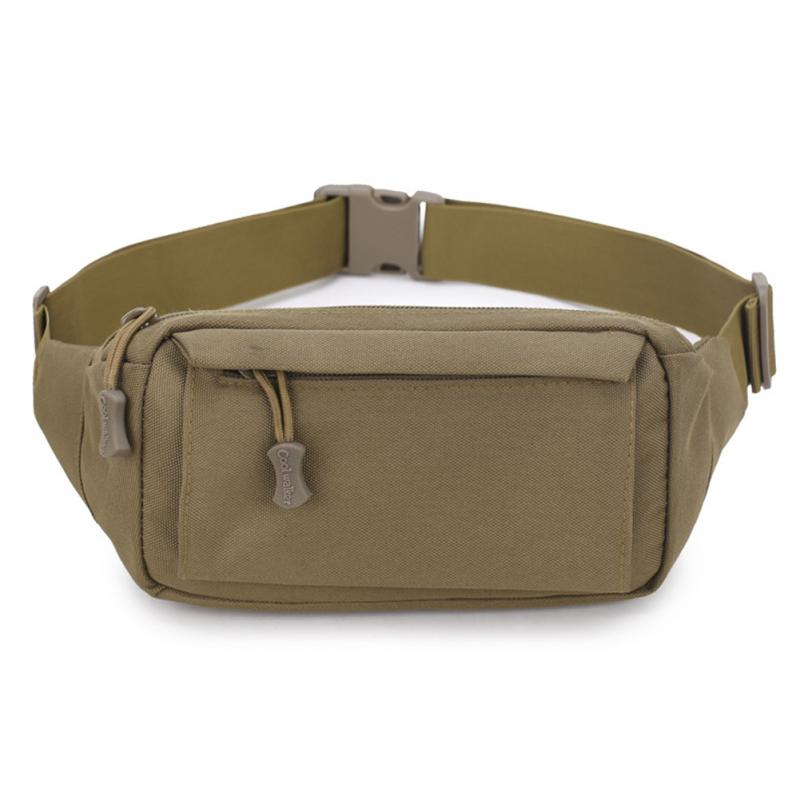 Men Nylon Waist Fanny Pack Hip Bum Tactical Military Travel Hiking Running Bag