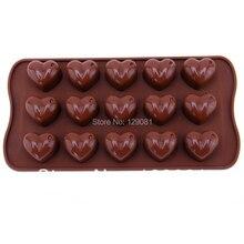 Любовь силикагель плесень шоколад желе пудинг формы торт льда узор мыло ручной работы плесень высокое сопротивление