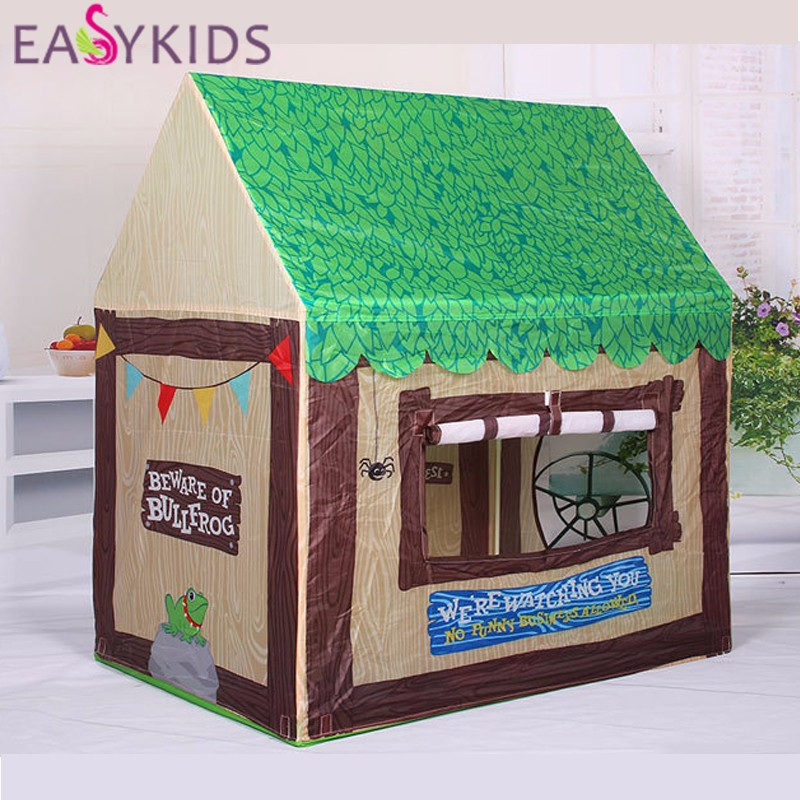 Kids Play Tent Foldable Portable Baby Princess Castle Indoor Outdoor forest Play Tents Playhouse For Children Best Gifts (4)