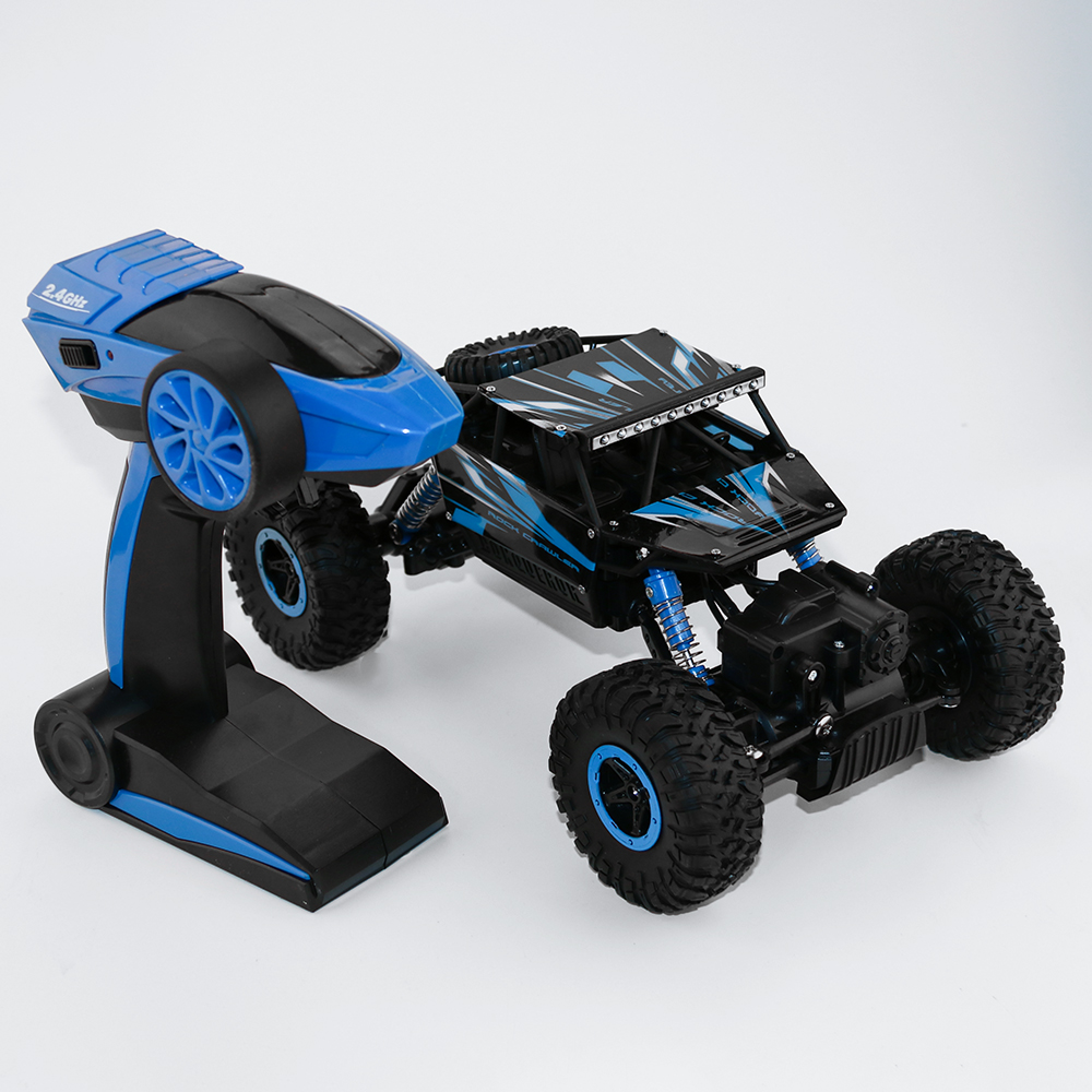 2.4GHz RC Car 4WD Rock Crawlers Rally climbing Car 1:18 Double Motors Bigfoot Car Remote Control Model Off-Road Vehicle Toy