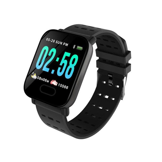 2019 Bakeey M20 Smartwatch Men Women Watch Real Time HR Blood Oxygen Pressure Monitor Long Standby Sport Smart Watch