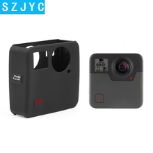 JYC Soft Silicone Protective Cover Case for GoPro Fusion Action Camera Housing Go Pro Accessory