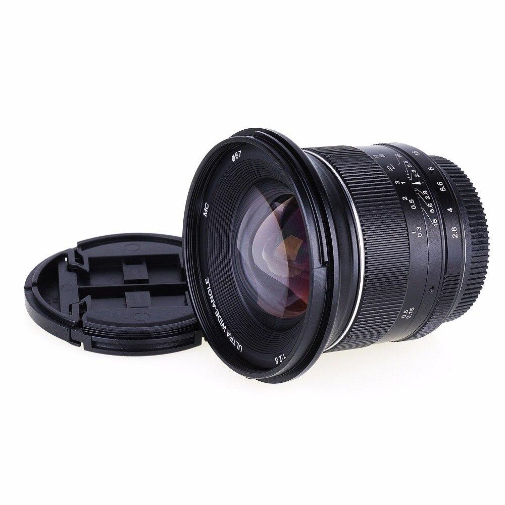 Nuovo 12mm F2.8 f/2.8 Manuale Wide Angle Lens per Sony NEX e Mount F3 C3 5 5N 5R 5 t 6 7 A6300 A6000 A5100 A5000 ILCE 6000 Della Macchina Fotografica